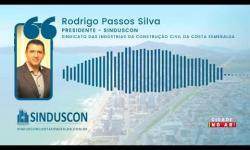Entrevista do Presidente do Sinduscon à Rádio Menina