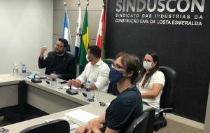 "SINDUSCON CONHECE PLANO ""VIVA ITAPEMA O ANO INTEIRO"""